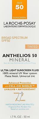 La Roche-Posay Anthelios 50 Tinted Mineral Ultra Light Sunscreen - 1.7 OZ 2019 +
