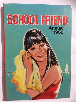 SCHOOL FRIEND 1969 Annual. Good Condition For Age. **Free UK Postage**