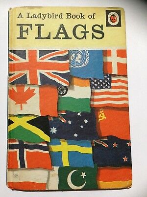 Ladybird Book. Book Of Flags Series 584 Published 1968.