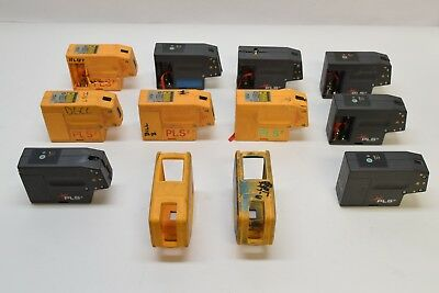 (10) Pacific Laser Systems PLS3 Laser Level Beam Square Dot Tool - FOR PARTS