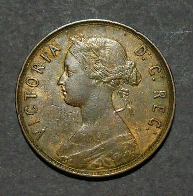 1873 Newfoundland Large 1 Cent