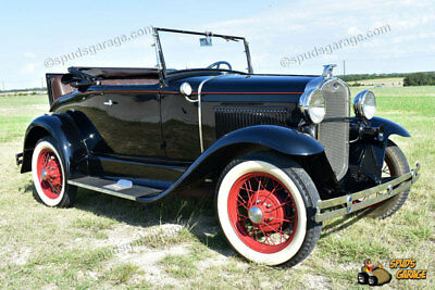 """1931 Ford Model A Rumble Seat Roadster 1931 Ford Model A Rumble Seat Roadster """"All Henry Steel"""""""