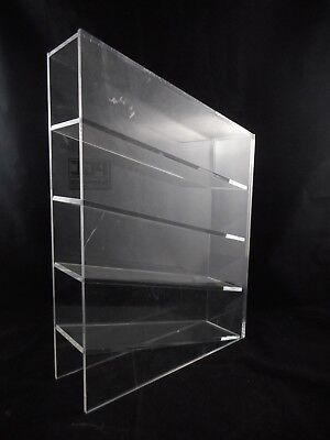 """Laboratory Acrylic Pipet Box Holder Angled 4-Place 3.5"""" x 16.4"""" x 11.5"""" LWH"""