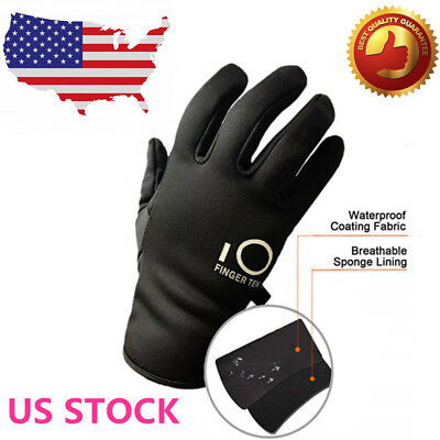 Winter Work Gloves Waterproof Insulated Warm Grip Men Women Mittens Snowboard