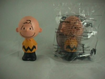 McDonald's Happy Meal Toy 2015 The Peanuts Movie Talking Charlie Brown  #1 NEW