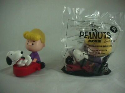 McDonald's Happy Meal Toy 2015 The Peanuts Movie Schroeder and Snoopy  #9 NEW