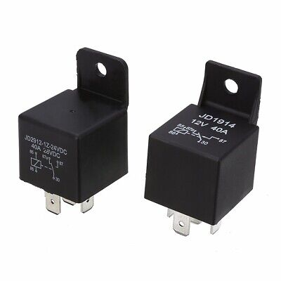 DC 12V/24V Volt  40A 5 Pins Auto Car Motorcycle ON/OFF Split Relay Normally Open