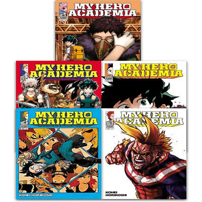 My Hero Academia Collection 5 Books Set Volume 11-15 Series 3 Manga pack NEW PB