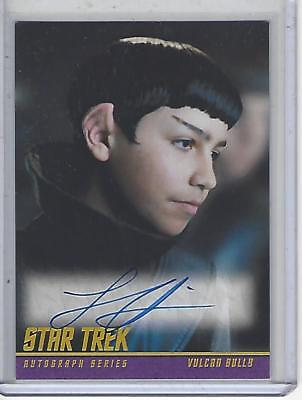 Star Trek Beyond Movie (2017) Lorenzo James Henrie autograph