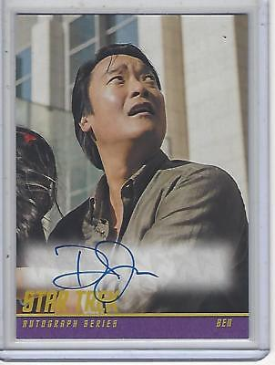 Star Trek Beyond Movie (2017) Doug Jung autograph