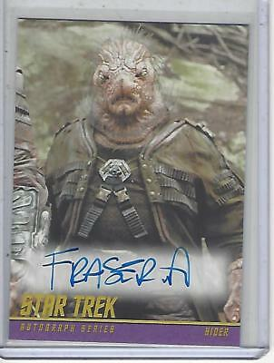 Star Trek Beyond Movie (2017) Fraser Aitcheson autograph