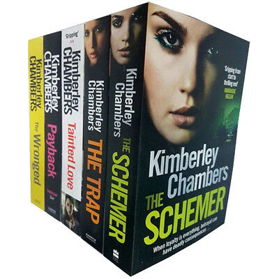 Butlers Series collection 5 books set Kimberley Chambers Trap Payback WrongedNEW