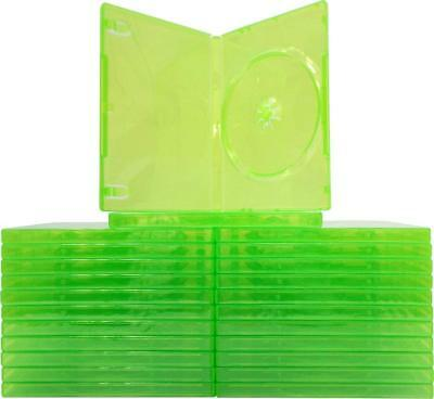 Xbox 360 * 10 x Good Condition Replacement Official Green Game Cases