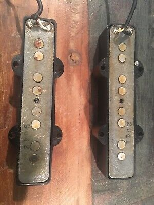 1971 1972 Fender Jazz Bass Pickups Set
