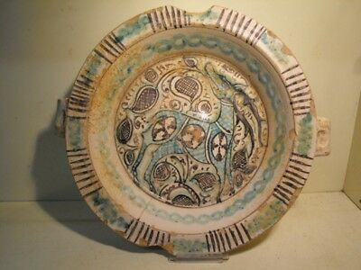MEDIEVAL MAJOLICA BOWL 15th. C.