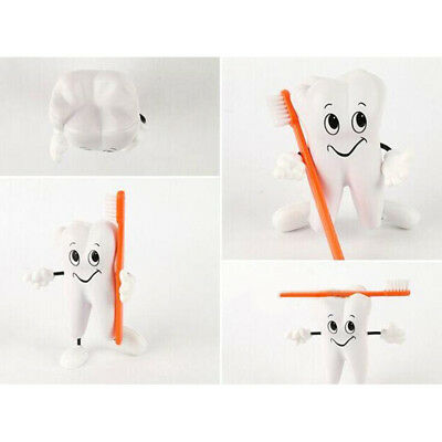 2018 Quality Stress Reliever 1pcs PU Jumbo White Teeth Shaped Figure Doll Toy