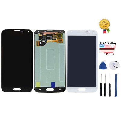 LCD Screen Digitizer Glass Touch Replacement For Samsung Galaxy S5 G900T G900V