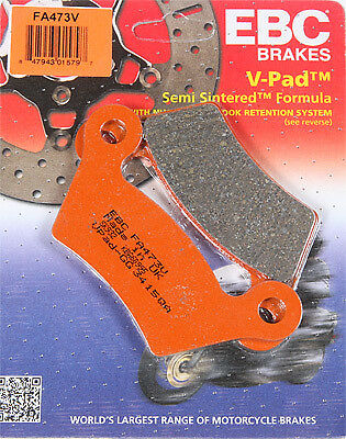 EBC Semi Sintered Brake Pads FA473V 61-0595 1721-1430 15-473V FA473V