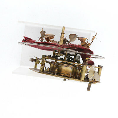 Movement for Singing bird cage music box ESCHLE GERMANY, gabbia con uccellino