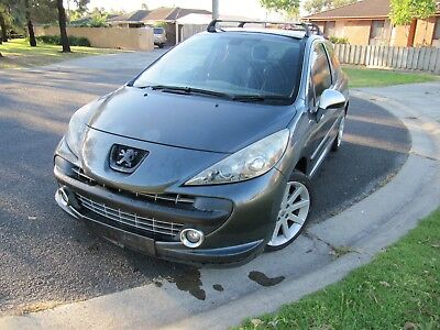 2007 peugeot 207 gti turbo repairable writeoff 96000kms mechanical issues