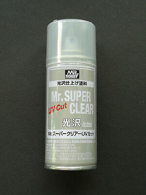 SPRAY Fissativo SUPER CLEAR UV CUT GLOSS - ML 170 mr hobby