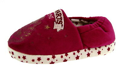 Girls Harry Potter Slippers Hogwarts Mules Indoor Cushioned Shoes Kids Gift Size