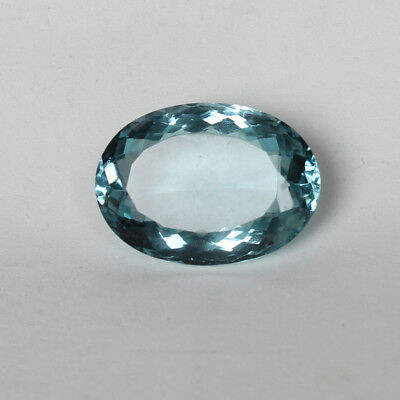 56.65 Ct. Natural Aquamarine Greenish Blue Color Finest Oval Cut Loose Gemstone