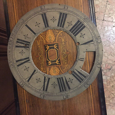 """Dial band hourly pendola louis XV equation of time """"Solem art sequor"""""""