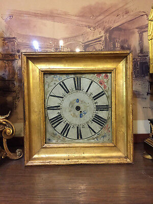 Case wooden and dial in parchment Florence '600, Tuscany vellum dial