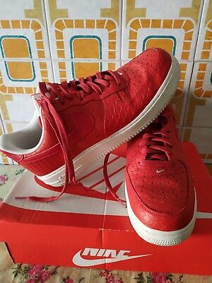 VENDO NIKE AIR Force 1 Low Rosse e Bianche 44ab3cc0396