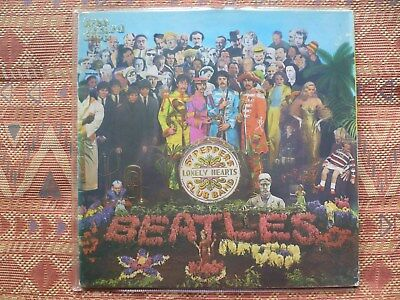 BEATLES - SGT Peppers lonely Hearts Club Band ( LP -Sweden Complet w,Innersleeve