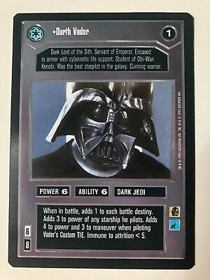 Star Wars CCG BB Premiere Limited I Find Your Lack Of Faith Disturbing NM-Mint
