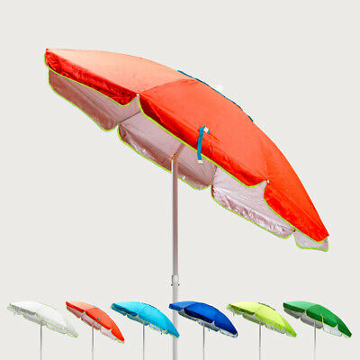 Parasol de plage 200 cm antivent protection uv SARDEGNA