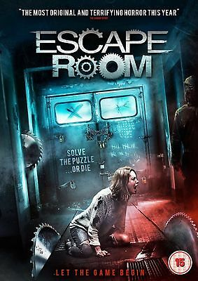 Escape Room [DVD] Scary Horror New Movie - Gift Idea - UK Stock - Film