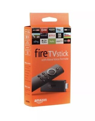 Amazon Fire TV Stick 2nd Generation with Alexa Voice Remote - Black