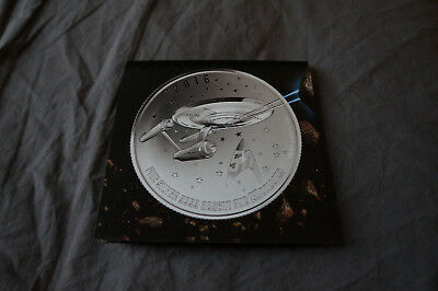 Canada 20 for $20 Silver Coin #21 - Star Trek: Enterprise (2016)