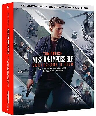 MISSION IMPOSSIBLE 6 FILM 4K COLLECTION (13 BLU-RAY 4K UHD + Blu-ray) TOM CRUISE