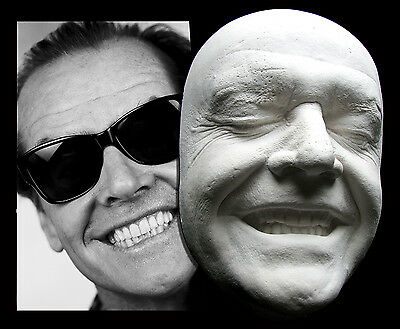 Jack Nicholson Smiling Life Mask The Shining, Batman, Joker, As Good as it Gets