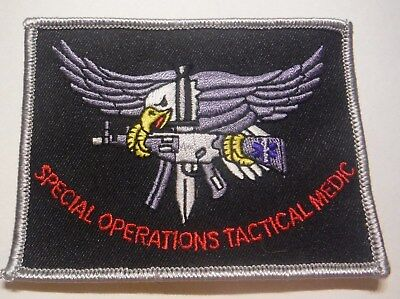 Special Operations Tactical Medic Swat Patch Unused
