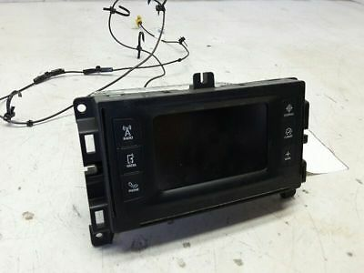 "2015 Chrysler 200 2.4 Audio Receiver W/ 5"" Screen Oem 68226693Ad W/satelite Func"
