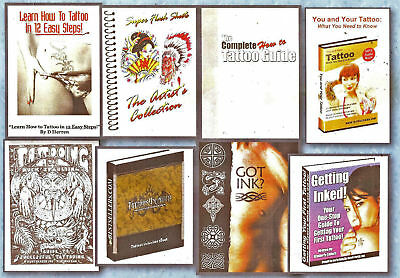 Learn How To Tattoo 5 E-Books Plus Loads Of Free Extras