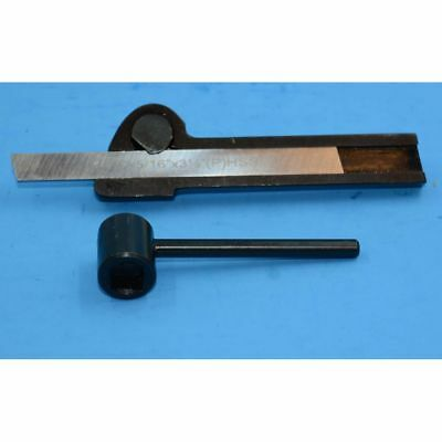PARTING TOOL HOLDER AND BLADE FOR SMALL LATHE  5/16 x 3 1/2