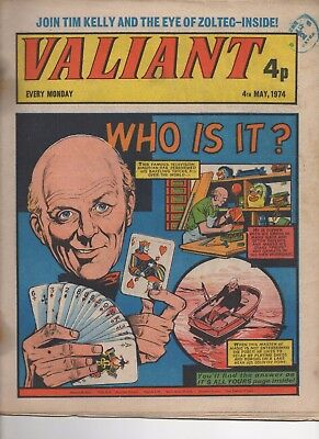 Valiant Good 4Th May 1974 Ipc Uk Comic