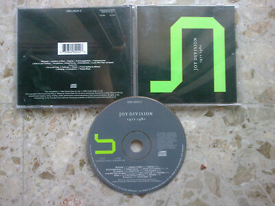 JOY DIVISION - SUBSTANCE - CD 2002 EX/NM 17 songs 1977-1980 collection devo daf