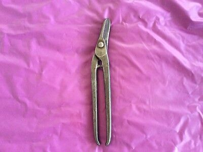 Vintage Gilbow Tin Snips Metal Cutters Work Old Hand Tools