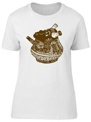 Chinese Art Ancient Jar Women's Tee -Image by Shutterstock