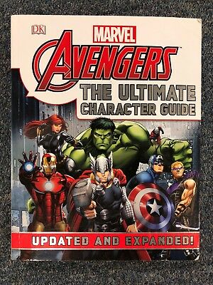 MARVEL AVENGERS The ULTIMATE CHARACTER GUIDE~Udated & Expanded! By DK