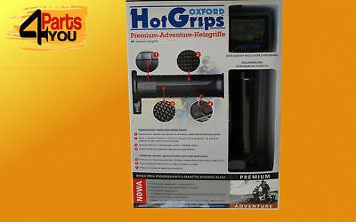 - New - Oxford Hot Grips Premium Adventure  Heated Grips  Of690