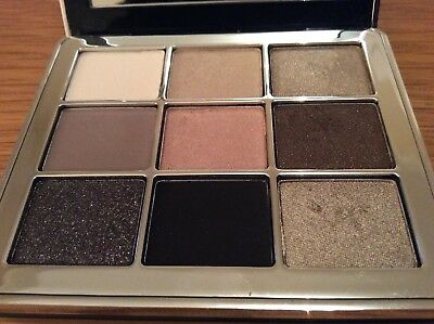 Bobbi Brown Sterling Nights Eye Palette Swatched Lightly No Box
