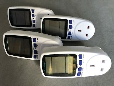 Floureon Power Meters, Four On Offer, Barely Used